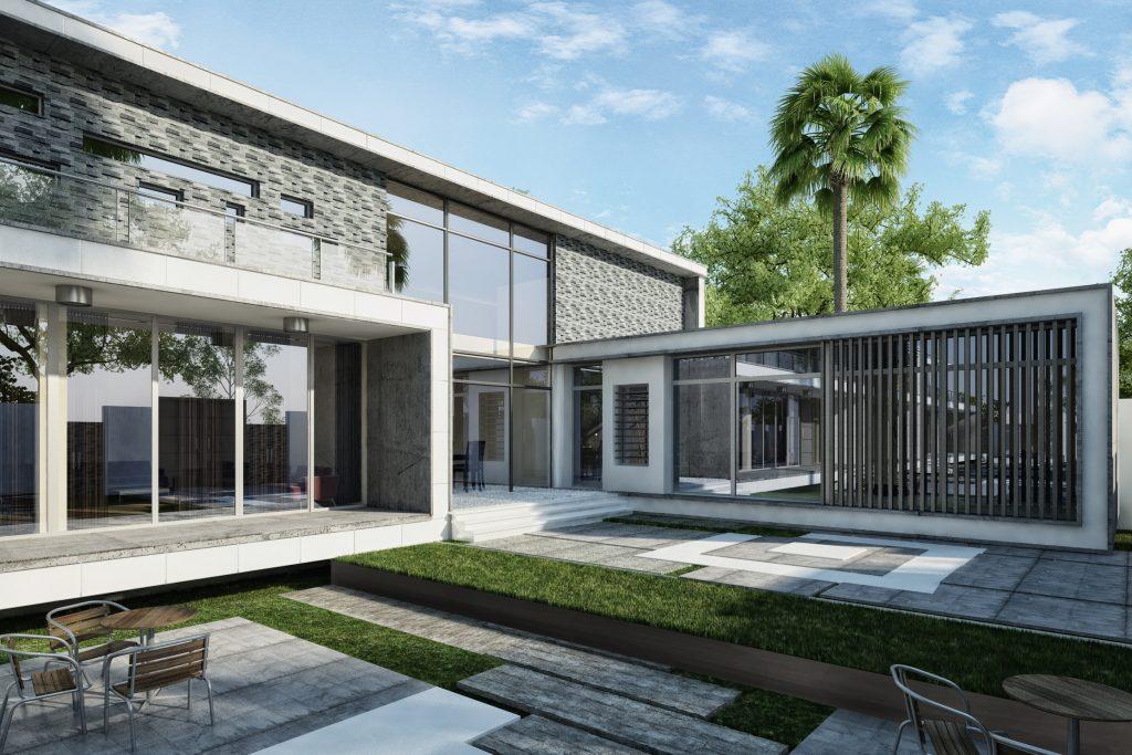 villa exterior elevation